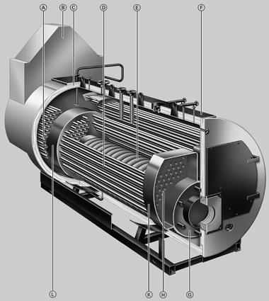 Кроме того, при использовании соответствующих компонентов возможна полностью автоматизированная эксплуатация котлов...